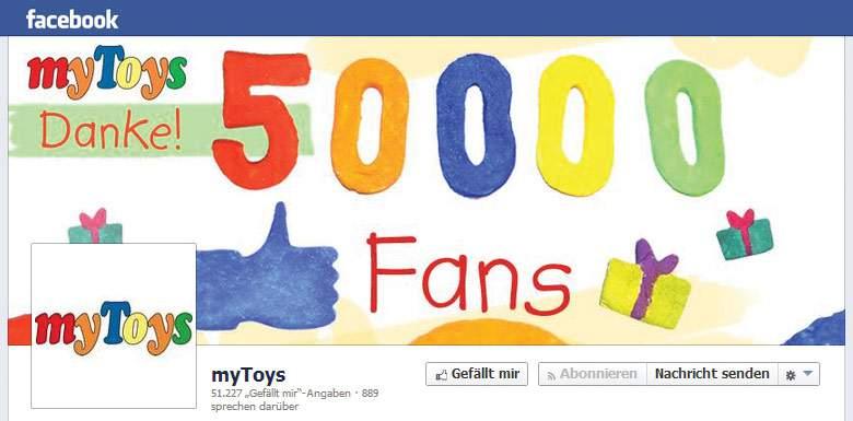 myToys Facebook