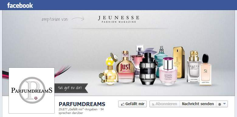 Parfumdreams fanpage