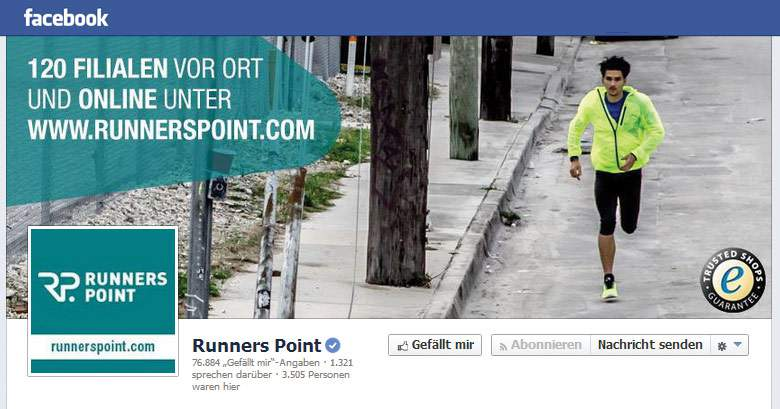 Runners Point Facebook