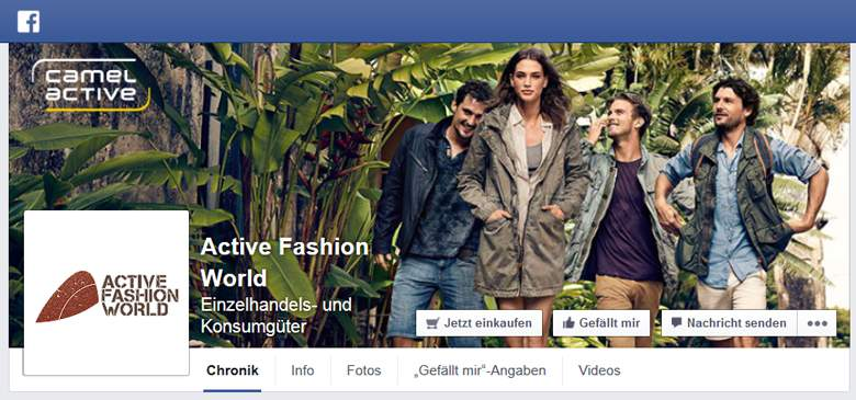 Facebook von ActiveFashionWorld
