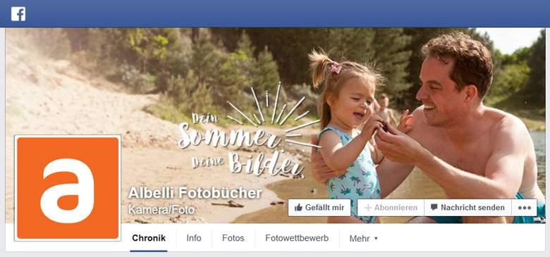 Facebook von Albelli