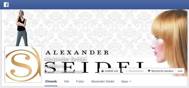 Facebook von Alexander Seidel