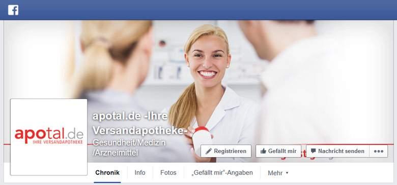 Facebook von Apotal