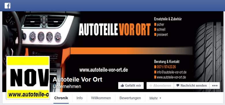 Autoteile-Owl bei Facebook