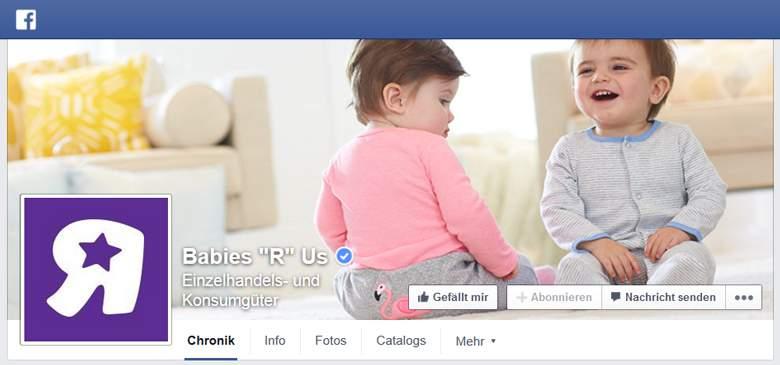 Babies'R'Us bei Facebook