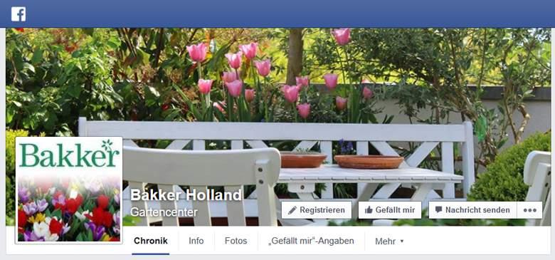 Bakker bei Facebook