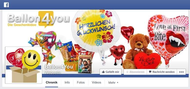 Facebook von Ballon4you