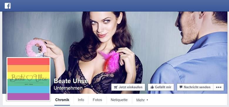Facebook von Beate-Uhse
