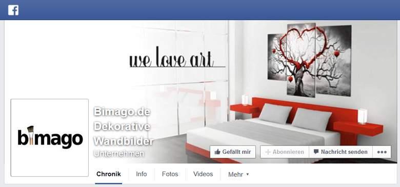 Bimago bei Facebook
