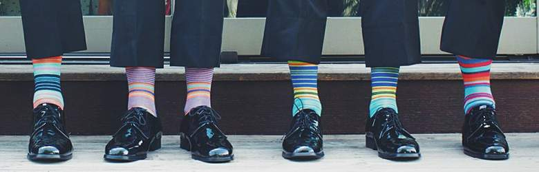 Funky Socken bei BlackSocks