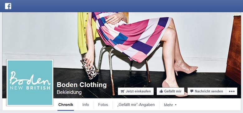 Boden bei Facebook