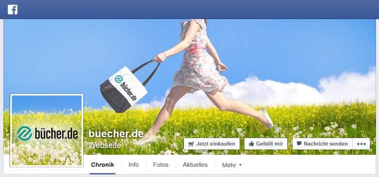 facebok von buecher.de