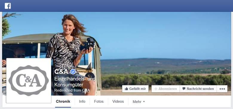 facebook von c&a