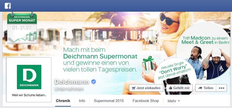 Facebook von Deichmann