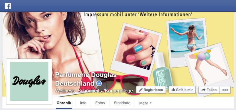 Facebook von Douglas