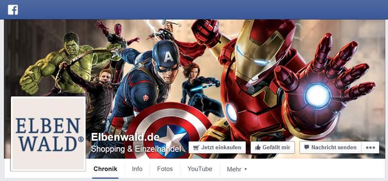 Facebook von Elbenwald
