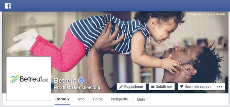 facebook von betreut.de