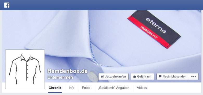 Facebook von Hemdenbox