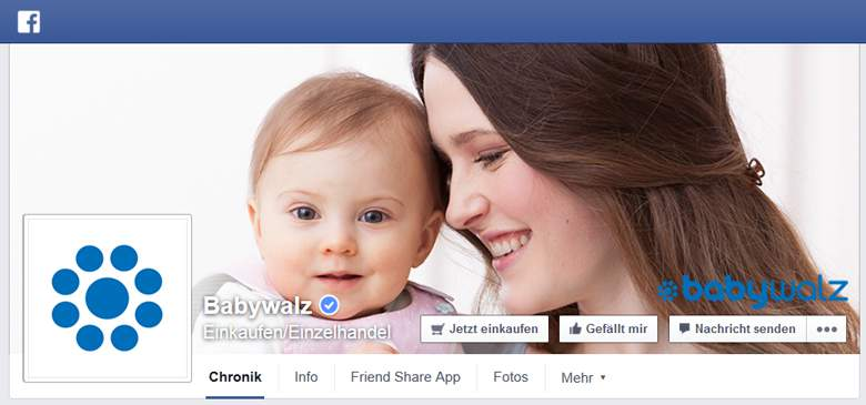 Facebook von Baby Walz