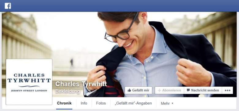 Charles Tyrwhitt facebook