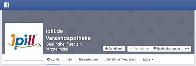 Faecbook von ipill