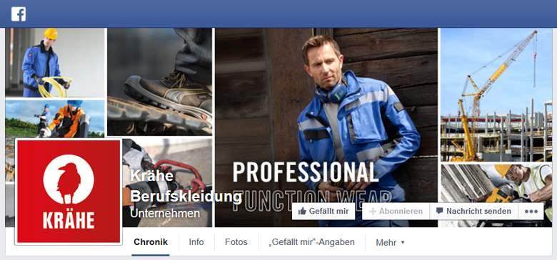Facebook von Krähe