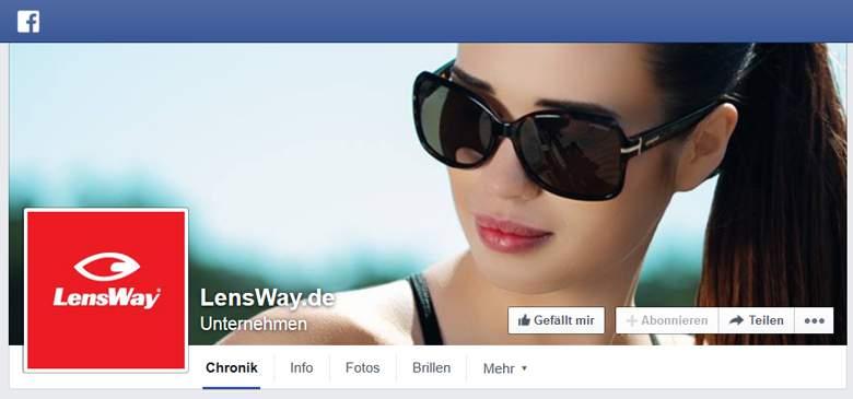 Facebook von LensWay