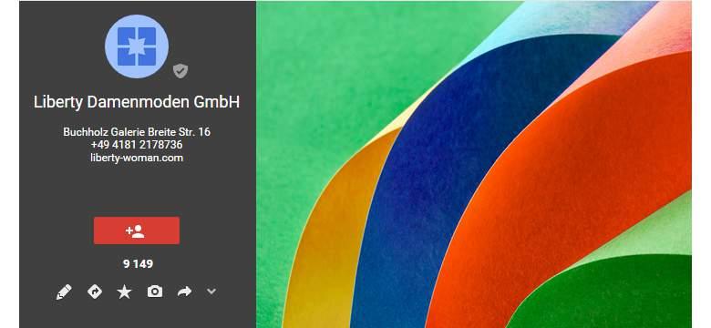 Google+ von Liberty