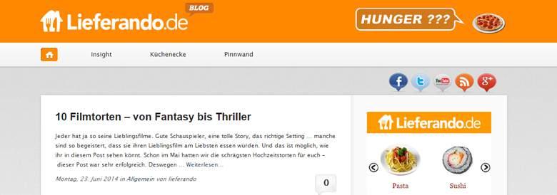 Lieferando Blog