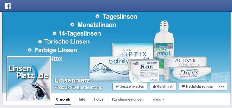 Facebook von Linsenplatz