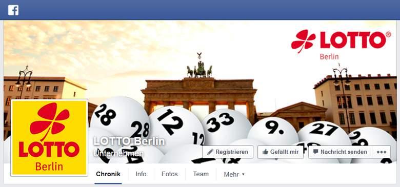 Facebook von Lotto.de
