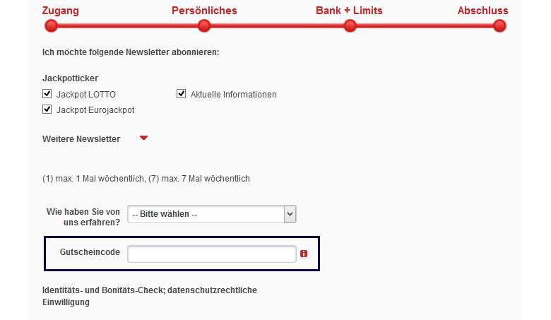 Lotto.de Warenkorb