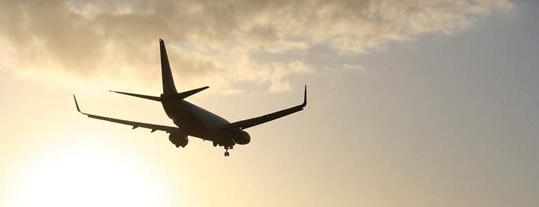 Flug mit Lufthansa