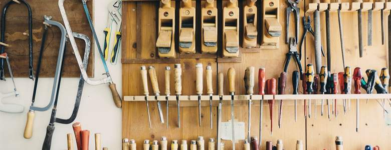 Handwerkszeug bei Mediashop