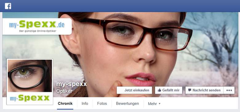 Faceboom von my-Spexx
