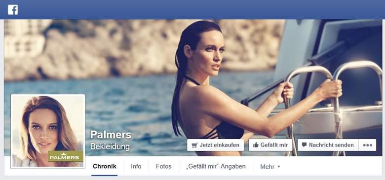 Facebook von Palmers