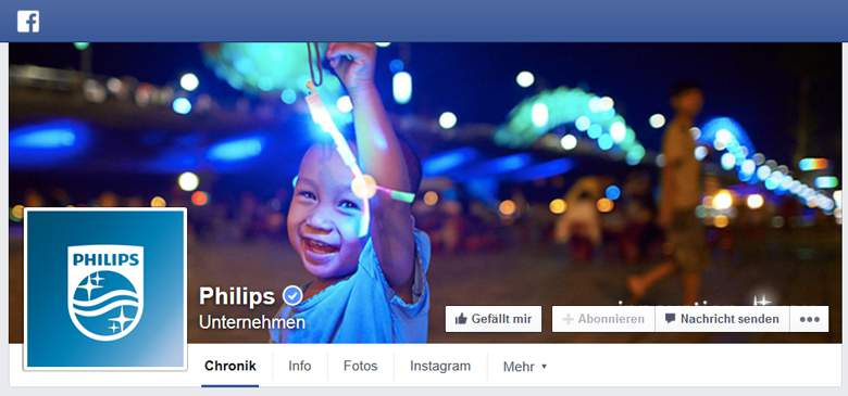 Facebook von Philips