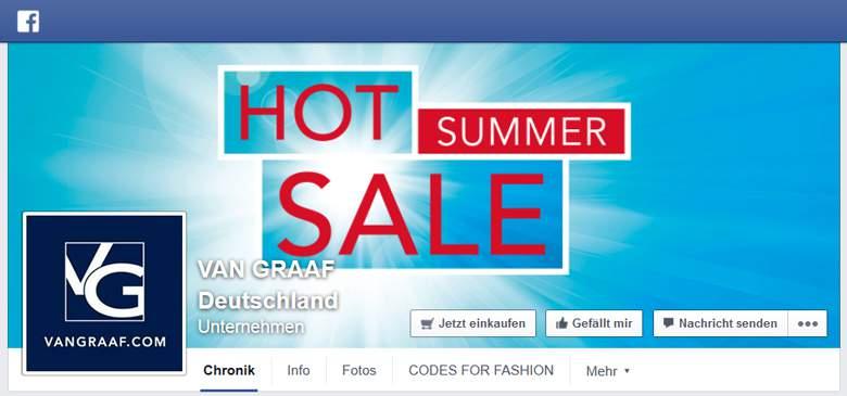 Facebook von Van Graaf