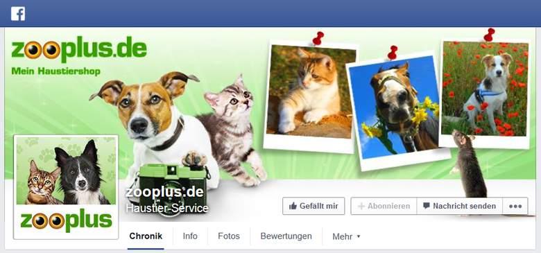 Facebook von Zooplus