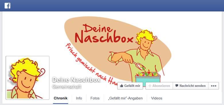 Deine Naschbox bei Facebook