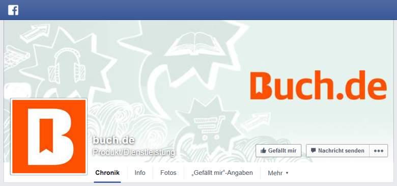 Buch.de bei Facebook