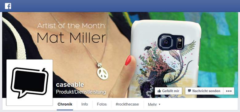 Caseable bei Facebook