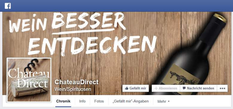 ChateauDirect bei Facebook