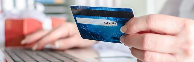Close Up Zahlungsmethoden