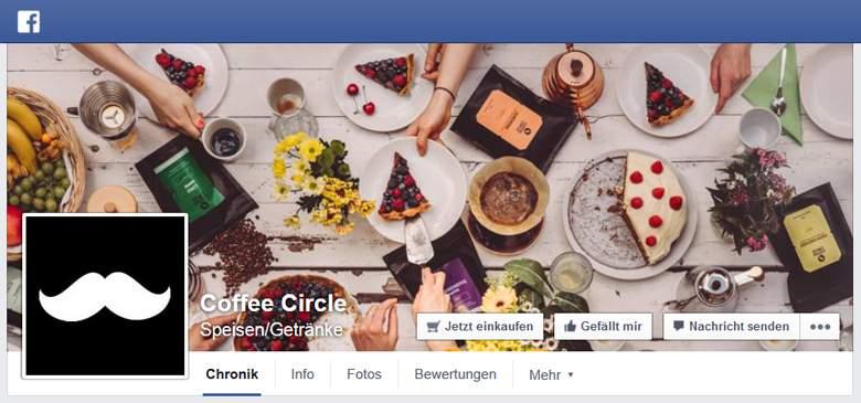 Coffee Circle bei Facebook
