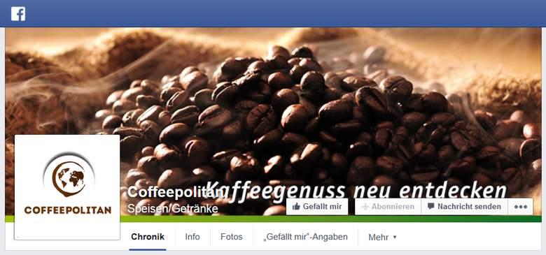 Coffeepolitan bei Facebook