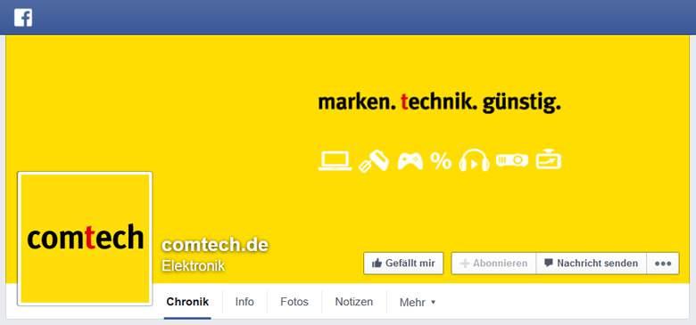 Facebook von Comtech