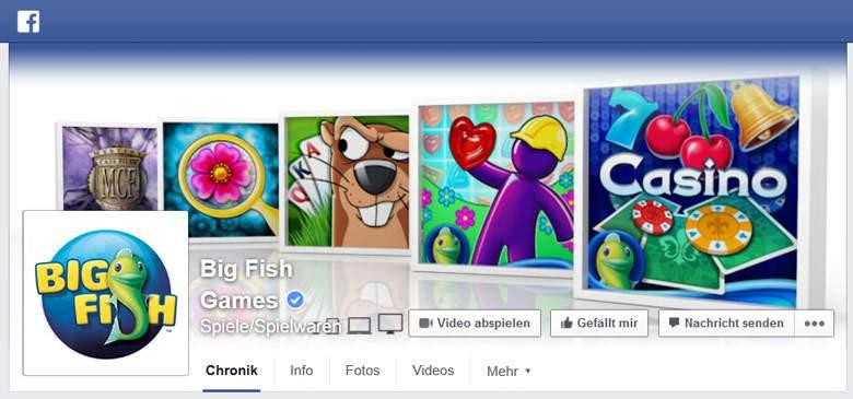 Big Fish Games bei Facebook