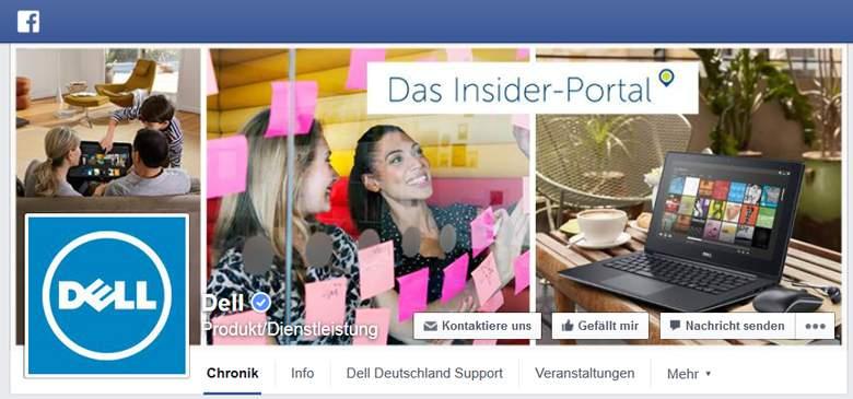 DELL bei Facebook