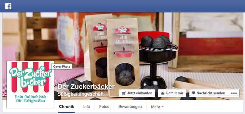 Der Zuckerbäcker bei Facebook